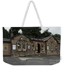 Haworth Railway Station Weekender Tote Bag