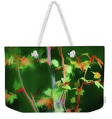 Hawthorn Leaves Weekender Tote Bag by Aliceann Carlton