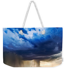 Hay In The Storm Weekender Tote Bag