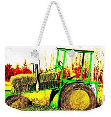 Hay It's A Tractor Weekender Tote Bag