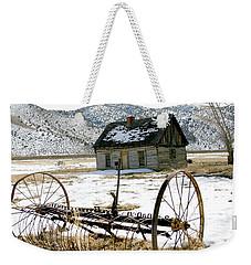Hay Rake At Butch Cassidy Weekender Tote Bag