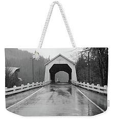 Hayden Covered Bridge, Alsea,  Oregon Weekender Tote Bag