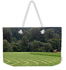 Haying  Weekender Tote Bag by Katie Wing Vigil