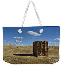Haystack Off Hwy 2 Weekender Tote Bag