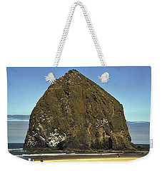 Haystack Rock, Cannon Beach, Or Weekender Tote Bag