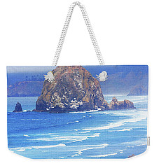 Haystack Rock Oregon Weekender Tote Bag