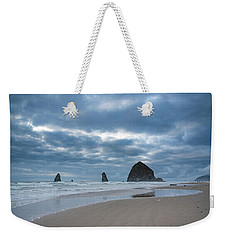 Haystack Rock, The Needles, And Cannon Beach Weekender Tote Bag