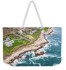 Hazard Rocks, Narragansett  Weekender Tote Bag