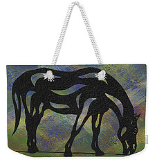 Hazel - Abstract Horse Weekender Tote Bag