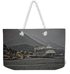 Hazy Day In Paradise  Weekender Tote Bag by Timothy Latta