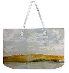 Hazy Fall Day Weekender Tote Bag