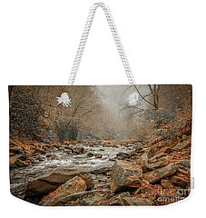 Hazy Mountain Stream #2 Weekender Tote Bag
