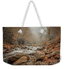 Hazy Mountain Stream #2 Weekender Tote Bag by Tom Claud