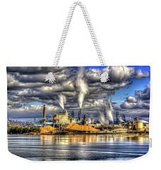 Hdr - Westrock Plant Tacoma, Wa Weekender Tote Bag