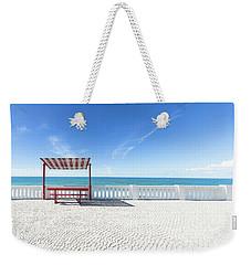 He And She Weekender Tote Bag by Edgar Laureano