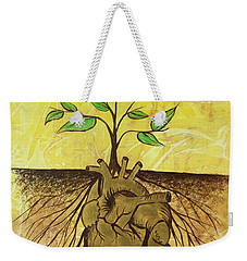 He Cultivates Our Hearts Weekender Tote Bag