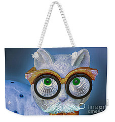 He Has His Eyes On You Weekender Tote Bag