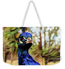 Weekender Tote Bag featuring the photograph He Is From An Upper Class Background by Steve Taylor