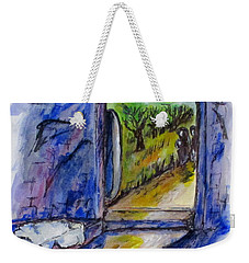 He Is Gone Weekender Tote Bag by Clyde J Kell
