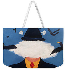 Head In The Cloud Weekender Tote Bag by Thomas Blood