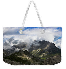 Head In The Clouds Weekender Tote Bag