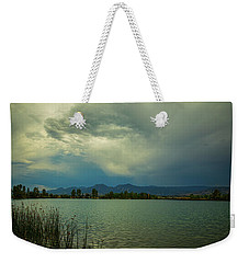 Weekender Tote Bag featuring the photograph Head In The Clouds by James BO Insogna