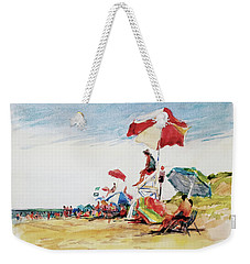 Head  Of The Meadow Beach, Afternoon Weekender Tote Bag