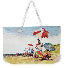Head  Of The Meadow Beach, Afternoon Weekender Tote Bag