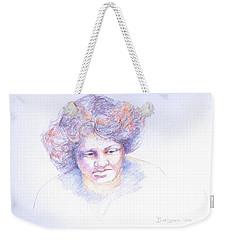 Head Study 4 Weekender Tote Bag