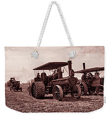 Heading Out Antiqued Weekender Tote Bag