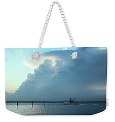 Heading Out Of The Storm Weekender Tote Bag