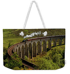 Heading To School Of Wizardy And Magic Weekender Tote Bag