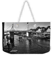 Heading To Sea - Perkins Cove - Maine Weekender Tote Bag