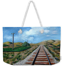 Heading West Weekender Tote Bag