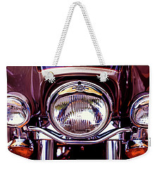 Weekender Tote Bag featuring the photograph Headlights by Samuel M Purvis III