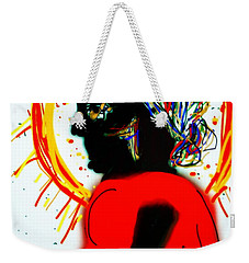 Headscarf Weekender Tote Bag by Kathy Barney