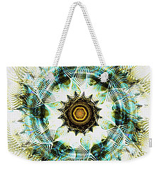 Weekender Tote Bag featuring the digital art Healing Energy by Anastasiya Malakhova