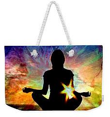 Healing Energy Weekender Tote Bag