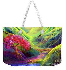 Healing Light Weekender Tote Bag