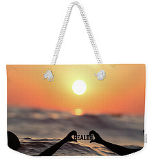Weekender Tote Bag featuring the photograph Health - Digital Art by Ericamaxine Price