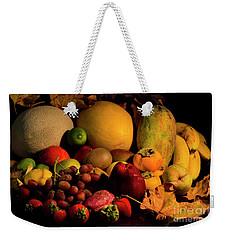 Healthy Food Weekender Tote Bag