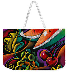 Healthy Fruit Weekender Tote Bag