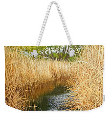 Hear The Croaking Frogs Weekender Tote Bag