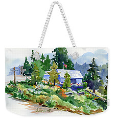 Hearse House Garden Weekender Tote Bag