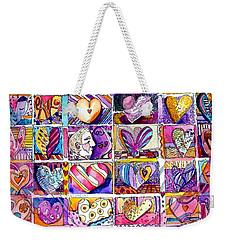 Heart 2 Heart Weekender Tote Bag