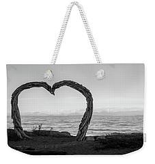 Heart Arch Weekender Tote Bag