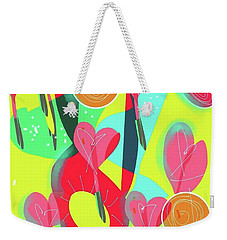 Heart Attack Weekender Tote Bag
