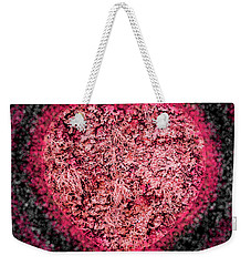 Heart Beat Weekender Tote Bag