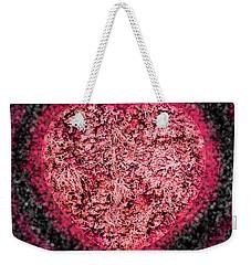Heart Beat Weekender Tote Bag by Hazy Apple