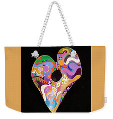 Heart Bowl Weekender Tote Bag